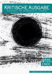 Cover-Kritische Ausgabe, No. 26